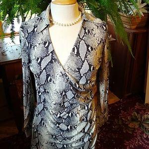 Diane Von Furstenberg Maternity Dress sz M